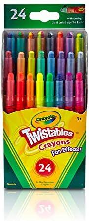Crayola–8特大蜡笔 assorted colours