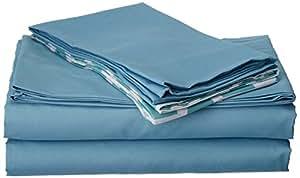 时尚家居 6 件套纯灰色,带 Bailee 灰色印花超柔软拉绒超细纤维大号床单套装含 2 个枕头套 白色 两个 SS4997-AN