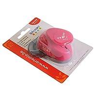 Artemio Hearts Corner Punch,塑料,粉色,9.5 x 5 x 14 厘米