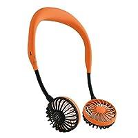 SPICE OF LIFE 便携式电风扇 W FAN 橙色 フリー DF30SS01-OR