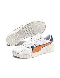 [彪马] 运动鞋 CALI 复古 女士 白色/袋鼠 (01) 23 cm