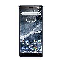 诺基亚 5/5.1 Dual Sim智能手机 - 德国商品(16GB,13万像素相机,Android 7.0)11CO2L01A08AB Model 2018 16GB 蓝色