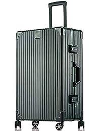 JamayZeyliner 佳美吉利亚 防刮拉丝面铝镁合金框PC箱出国旅行箱拉杆箱登机箱托运箱万向轮008