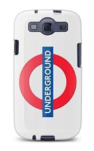 Cygnett CY0815CXTFL TFL Underground Samsung Galaxy S3 Case - 1 Pack - Carrying Case - Underground