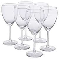 IKEA 000.151.34 Svalka 白*杯 透明玻璃