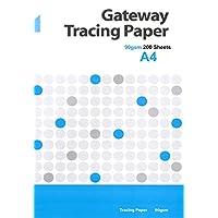 Gateway A4 90 gsm 250 页 天然 透明纸