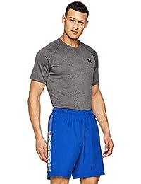Under Armour 安德玛 男式 编织印图文字商标 活动短裤 透气和现代健身服装