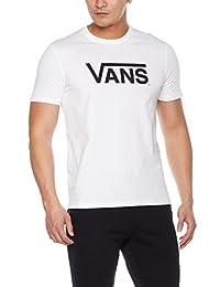 VANS 范斯 男式 短袖T恤 VN0A33ZLWHT1