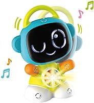 Smoby 智比 7600190100WEB 智能机器人 Tic 电子学习玩具 学习机器人 交互式玩具 适合12个月以上的儿童 白色 蓝色 * 橙色