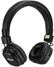 Marshall - Major II 蓝牙耳机 黑色 Standard