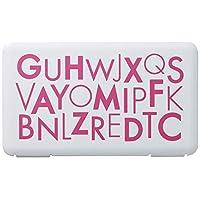 iseto携带用口罩 粉色 約幅19×奥行11×高さ1.2cm I-573-1