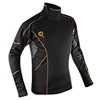 衬衫冬季保暖织物肩带背心内衣衣服防风男款 M 5180000058302