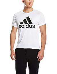 adidas 阿迪达斯 男式 训练 短袖T恤 D2M TEE LOGO