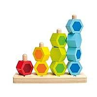 Hape 数字堆堆乐 儿童玩具 益智早教 德国品牌