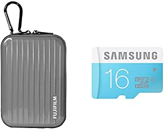 Inov8 紧凑相机套装包括 Inov8 手机壳和三星 16GB 标准 Micro SDHC Class 6 存储卡X-AB1031-902 飞行箱 银色