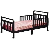 Athena Anna Sleigh Toddler Bed, Black