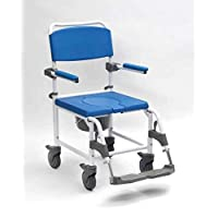 Drive Aston Shower Commode 马桶洗澡椅 座椅 移动辅助车轮 可调节