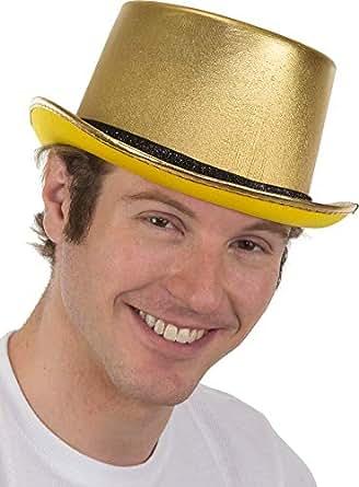 成人金属金色帽子服装配饰