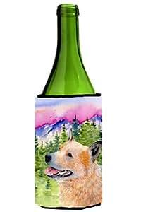 Caroline's Treasures SS8335 家长澳大利亚牛犬超饮料隔热剂,适用于纤细罐 SS8335MUK,多色 多种颜色 750 ml SS8335LITERK
