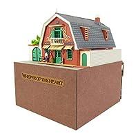 SANKEI 迷你纸模型 吉卜力工作室系列 放耳边 地球屋 1/150比例 纸模型 MK07-09