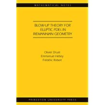 Blow-up Theory for Elliptic PDEs in Riemannian Geometry (MN-45) (Mathematical Notes) (English Edition)
