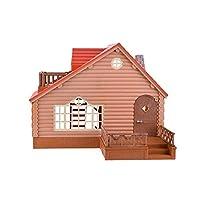 日本SylvanianFamilies森贝儿家族过家家玩具悠闲木屋适合3岁以上SF28818