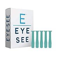 Eye See 硬质接触镜头去除器 RGP 塞子 - 易于移除 - 5 盒 - 绿色