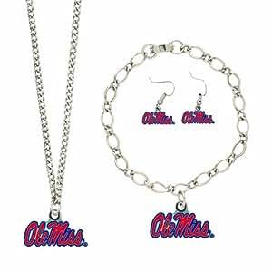 NCAA Mississippi Rebels Jewelry Set