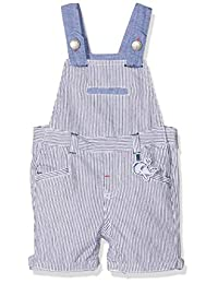 Chicco 男婴 Salopette Pantaloncini 粗布裤