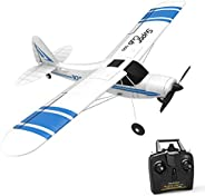 VOLANTEXRC 2.4 GHz 遥控飞机 Super Cub 500 遥控飞机 准备飞行 带 Xpilot 稳定系统 & 一键 U 型转弯 初学者 (76