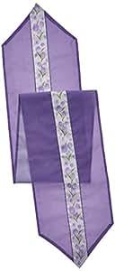 Spring Tulips 桌布 紫色/白色/绿色 57185