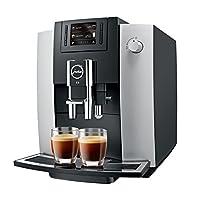 JURA优瑞 15079 E6咖啡机,白金色[能源等级a]