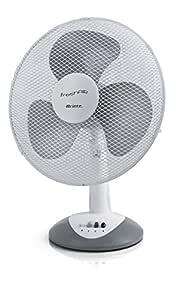 Ariete 847 台风扇,3档速度,3面气动螺丝,振动和倾斜角,40瓦,塑料,白色