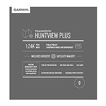 Garmin Huntview Plus,预装微型 SD 卡,带用于 Garmin 手持式 GPS 设备的狩猎管理单元010-12511-02 密歇根州