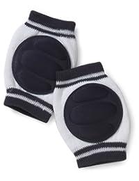 Playshoes 中性婴儿护膝爬行*护腿套 蓝色(白色/*蓝) 均码