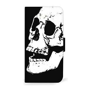 MITAS 智能手机保护壳翻盖式 Skull 骷髅头骷髅  C 5_arrows (M04)