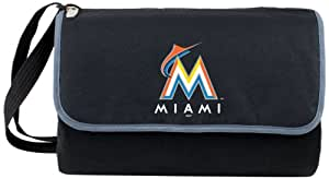 MLB Miami Marlins Outdoor Picnic Blanket Tote
