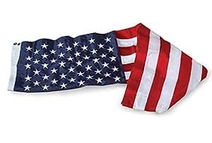 Allied Flag Outdoor Supreme 尼龙美国 旗帜,60.9 m x 96.52 m