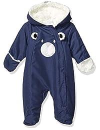 Quiltex 男童小熊加厚侧边拉链保暖服
