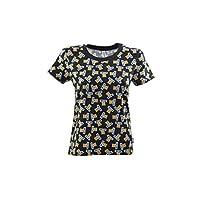 MOSCHINO 女式黑色熊短袖标志 T 恤