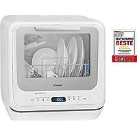 Bomann TSG 7402 迷你洗碗机 白色 白色 (ca. H x B x T) 43.5 x 42.0 x 43.5 cm 774020