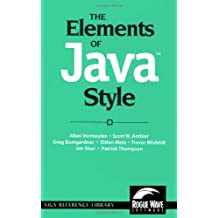The Elements of Java(TM) Style (SIGS Reference Library Book 15) (English Edition)