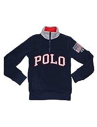 Polo Ralph Lauren 大男孩半拉链摇粒绒夹克