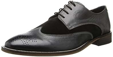 Stacy Adams 男士 Revel 牛津鞋 黑色 10.5 M US