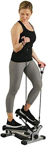 Sunny Health & Fitness 靜音家用迷你踏步機多功能扭腰踏步機SF-NO.012S/SF-NO.045/SF-P