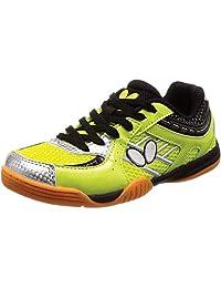 [蝴蝶] 乒乓球鞋 休闲线 鞋底 [男女通用] 93640 青柠色 25 cm
