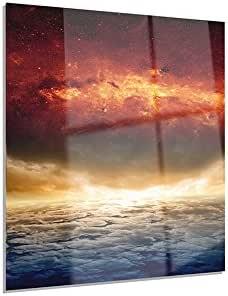 Designart 极具启发性的设计现代太空金属墙艺术 - MT8071 30x40 MT8071-30-40