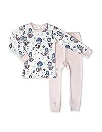 Finn + Emma *棉睡衣套装 适合幼儿男孩或女孩 美人鱼 18-24 个月