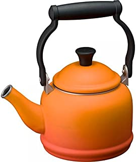 Le Creuset 水壶 Demi 搪瓷水壶 IH适用 橙色 920009-00-09