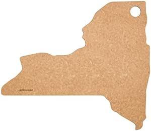 "Epicurean 北达科他州切菜和上菜板,14.25 x 8 英寸(约 36.8 x 20.32 厘米),天然色 天然 14 by 12"" 032-NY0102"